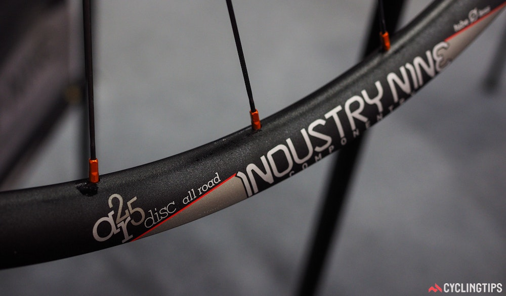 Industry Nine AR25 rim InterBike 2016 CyclingTips 43047