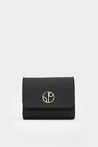 1 People Moscow Piñatex® Clutch Bag in Truffle Black
