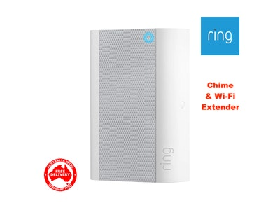Ring Chime Pro Wi-Fi Extender & Nightlight Indoor Chime for Ring Devices