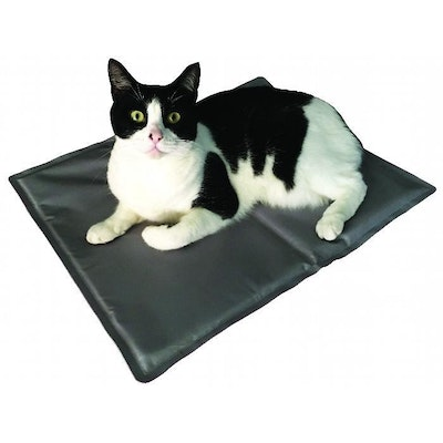 Zeez Cool Pad Pet Cooling Mat for Dogs Cats & Small Animals Silver - 3 Sizes