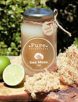 Pure Superfoods Original Premium Raw Unflavoured Sea Moss Gel