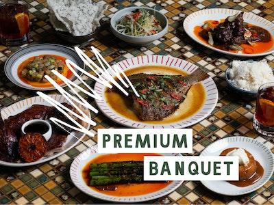 Firebird Premium Banquet + Cocktails, Feeds 3-4