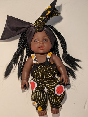Designed by Florence Waiola Tokunbo Doll