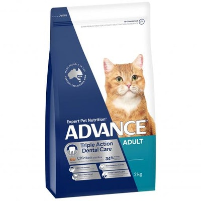 Advance Dental Adult Chicken Dry Cat Food 2kg