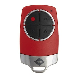 B&D Tri-Tran New TB6 Original Red 4 Button Garage Remote