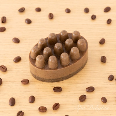 Spa Delights Coffee Massage Soap for beautiful legs