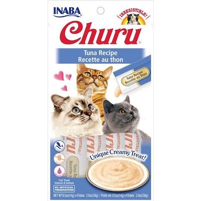 INABA® Churu Purée Cat Wet Treat – Tuna  14g X 4