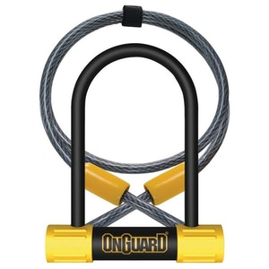 OnGuard 8015 Bulldog Mini DT Key U-Lock with Cable