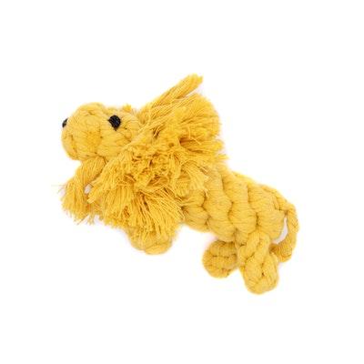 Veggie Paws Leo the Lion - Eco Rope Dog Toy