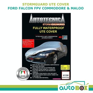 UTE Stormguard Cover Falcon FPV Commodore Maloo Waterproof Plush Fleece + BAG