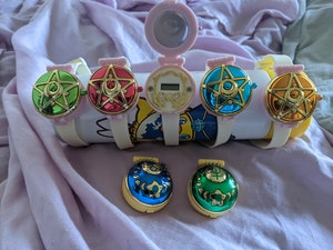 Sailor Moon interchangeable watch set
