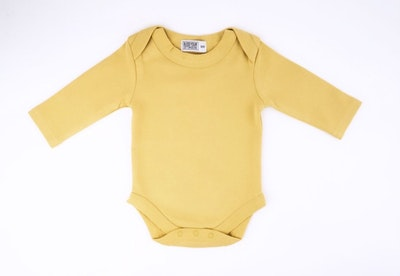 Mustard Onesie - Long Sleeve