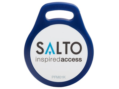 Salto 1KB RFID Mifare proximity fob in blue (Pack of 10)