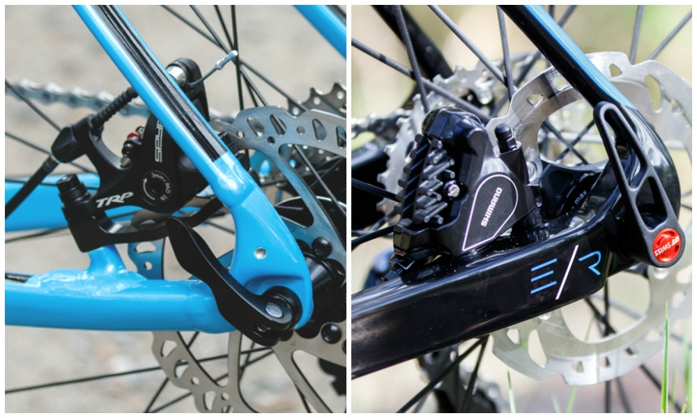 Fitting disc brakes to road bike 8 1