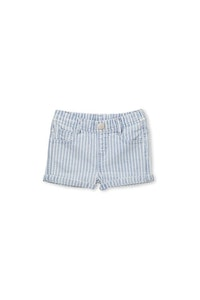 Milky - Baby Denim Stripe Short