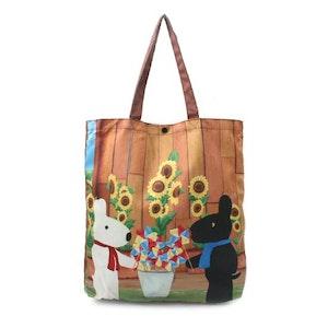Gaspard et Lisa Sunflower Shoulder Bag