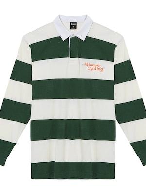 Attaquer Machina Rugby Shirt Green