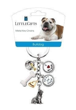 Little Gifts Keyrings - Bulldog
