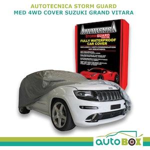 Autotecnica Stormguard 4WD Car Cover Waterproof Medium 4.5m Suzuki Grand Vitara