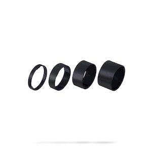 LiteSpace Headset Spacer 1 1/8 5/10/15/20 Black