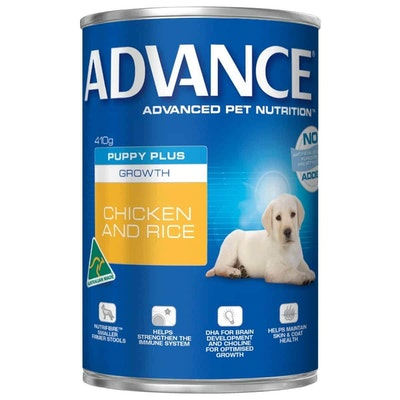 Advance  Puppy  Chicken and Rice  Canned Puppy Food