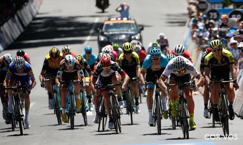 Tour Down Under Stage Four Race Recap