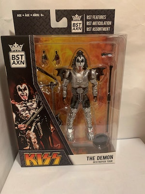 """Gene Simmons """"The Demon"""" KISS Destroyer Tour - The Loyal Subjects BST AXN Figure"""