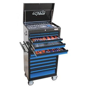 SP50105BL Tool Kit 307 Piece Metric/SAE Custom Series BLACK/BLUE SP50105BL