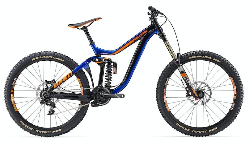 "Glory 1, 27.5"" Dual Suspension MTB Bikes"
