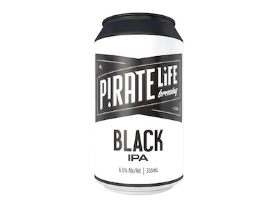 Pirate Life Black IPA Can 355mL 16 Pack