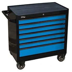 SP40126 Tool Box Roller Cabinet 7 Drawer 853w x 459d x 779h (mm) SP40126