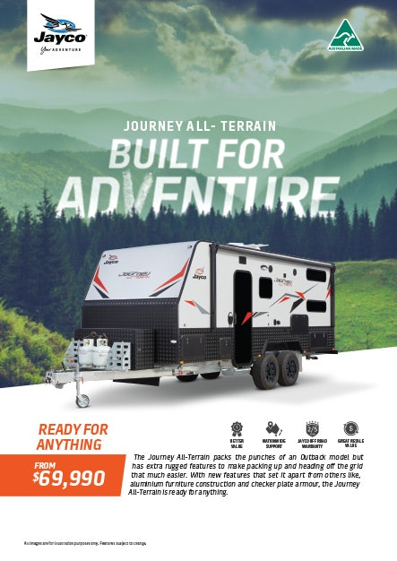 Jayco Journey All-Terrain Caravan