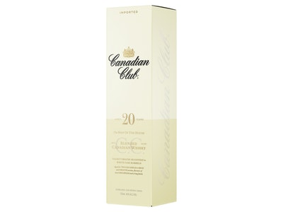 Canadian Club 20 Year Old Blended Canadian Whisky 750mL