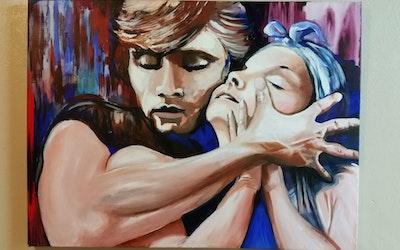 Virginia Bucknell Artworks Love Story