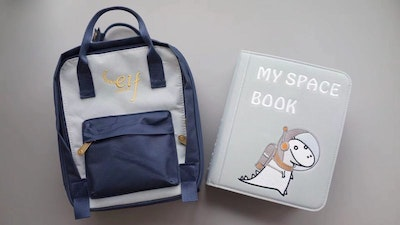 My First Book 3 – My Space Book (Grey)