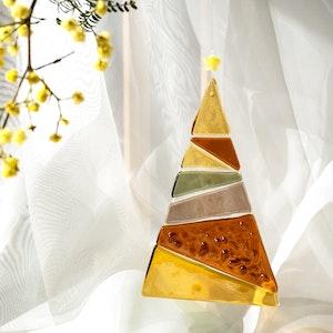 Ornament   Amber Christmas tree - large