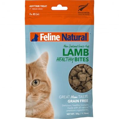 K9 Natural Lamb Healthy Bites Cat Treats 50G