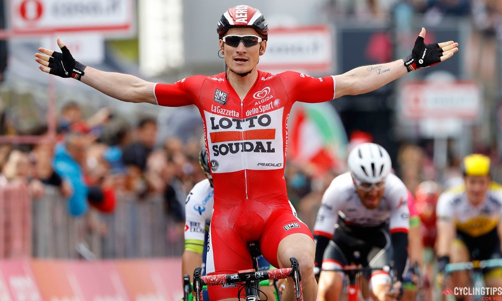 Greipel Sprints to Victory