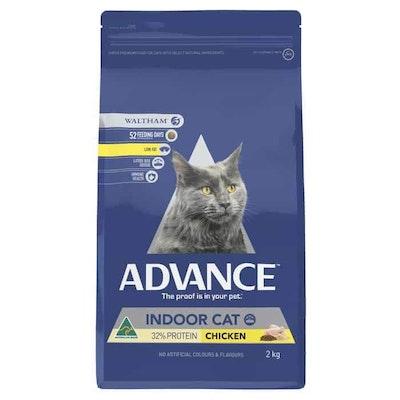Advance Indoor Chicken Dry Cat Food 2Kg
