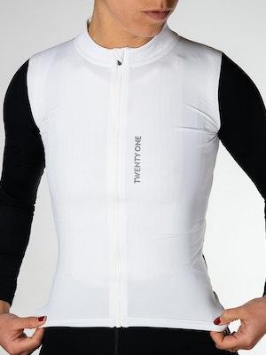 Twenty One Cycling Aero Midweight jersey - Snow - Women