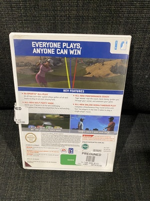 Nintendo Wii Tiger Woods PGA Tour 09