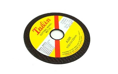 Tailin Cutting Wheel Metal 115 x 3 x 22mm - Box of 50