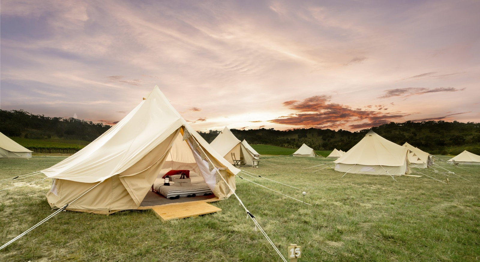 TREND WATCH: GLAMPING