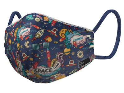 Outer Space - Kids Face Mask
