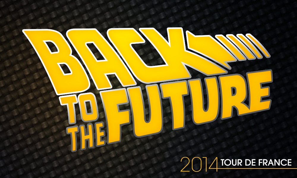 Back to the Future - Tour de France Bikes Timeline