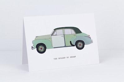 The Holden FJ Sedan Greeting Card