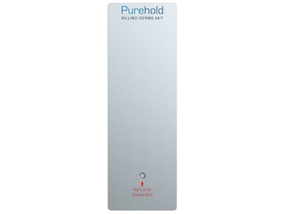 """Purehold """"Antibacterial Push Plate"""" 400mm x 95mm replacement front push pad (REPLACE EVERY 12 MONTHS)"""