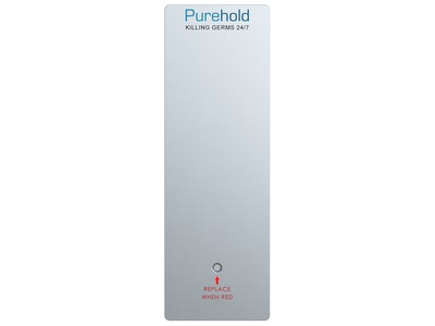 "Purehold ""Antibacterial Push Plate"" XXL 600mm x 120mm replacement front push pad (REPLACE EVERY 12 MONTHS)"