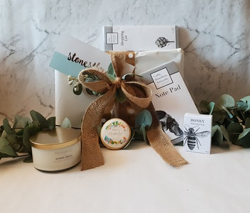 Buy From The Bush Gift Box | Stationary & Candle