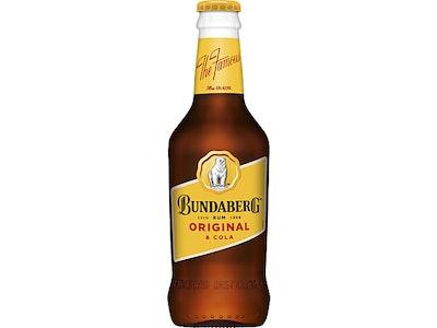 Bundaberg Original Rum & Cola Bottle 345mL